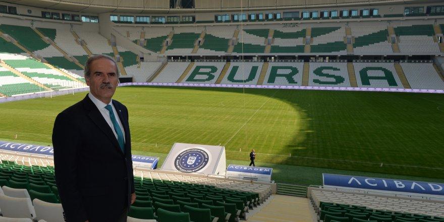 Bursa Büyükşehir Stadyumu açılıyor