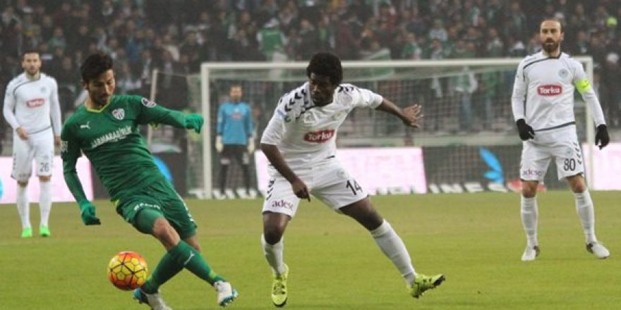 T.Konyaspor 1 - 0 Bursaspor