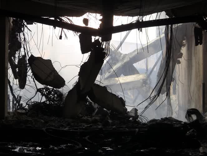 Bursa'daki fabrika yangınında zarar büyük 1