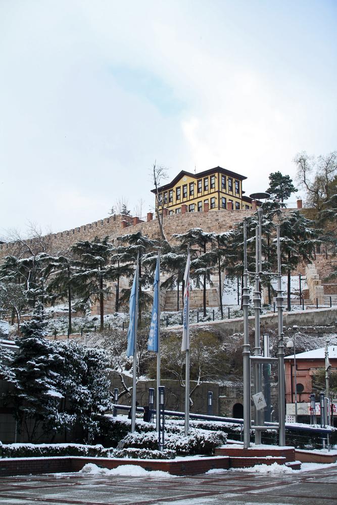 Bursa'dan muhteşem kar görüntüleri 1