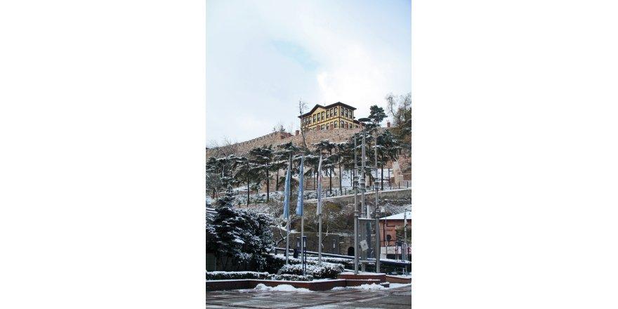 Bursa'dan muhteşem kar görüntüleri