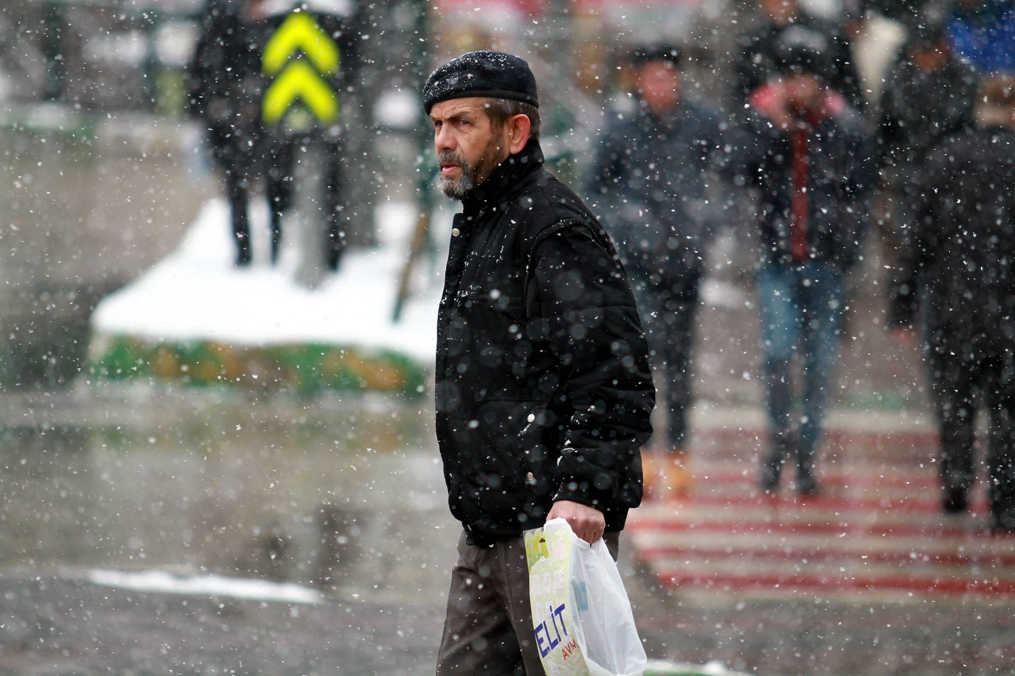 Bursa'dan kar manzaraları 1
