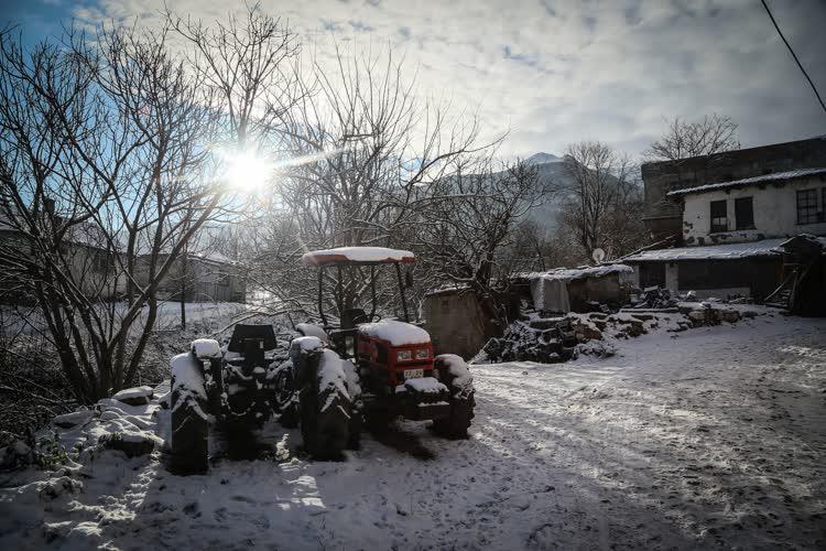 Cumalıkızık'ta kış... 1