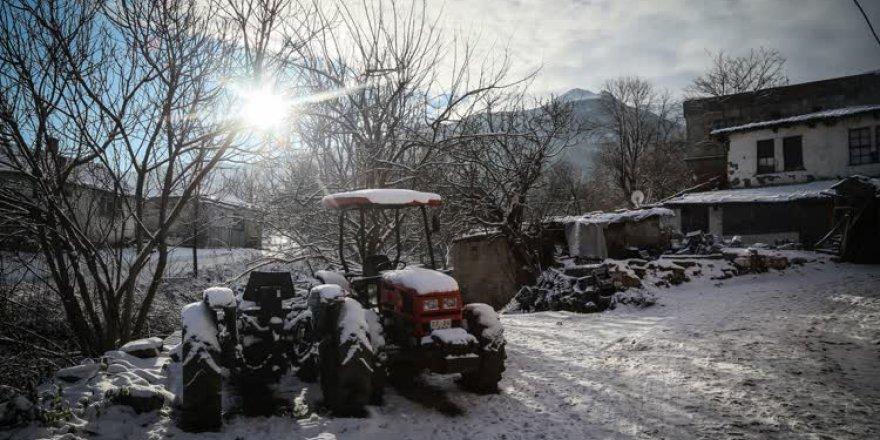 Cumalıkızık'ta kış...
