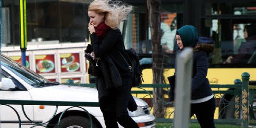 Bursa'da şiddetli lodos