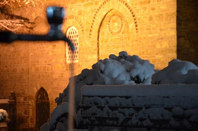 Bursa'da kar yağışı kartpostallık görüntüler oluşturdu 1