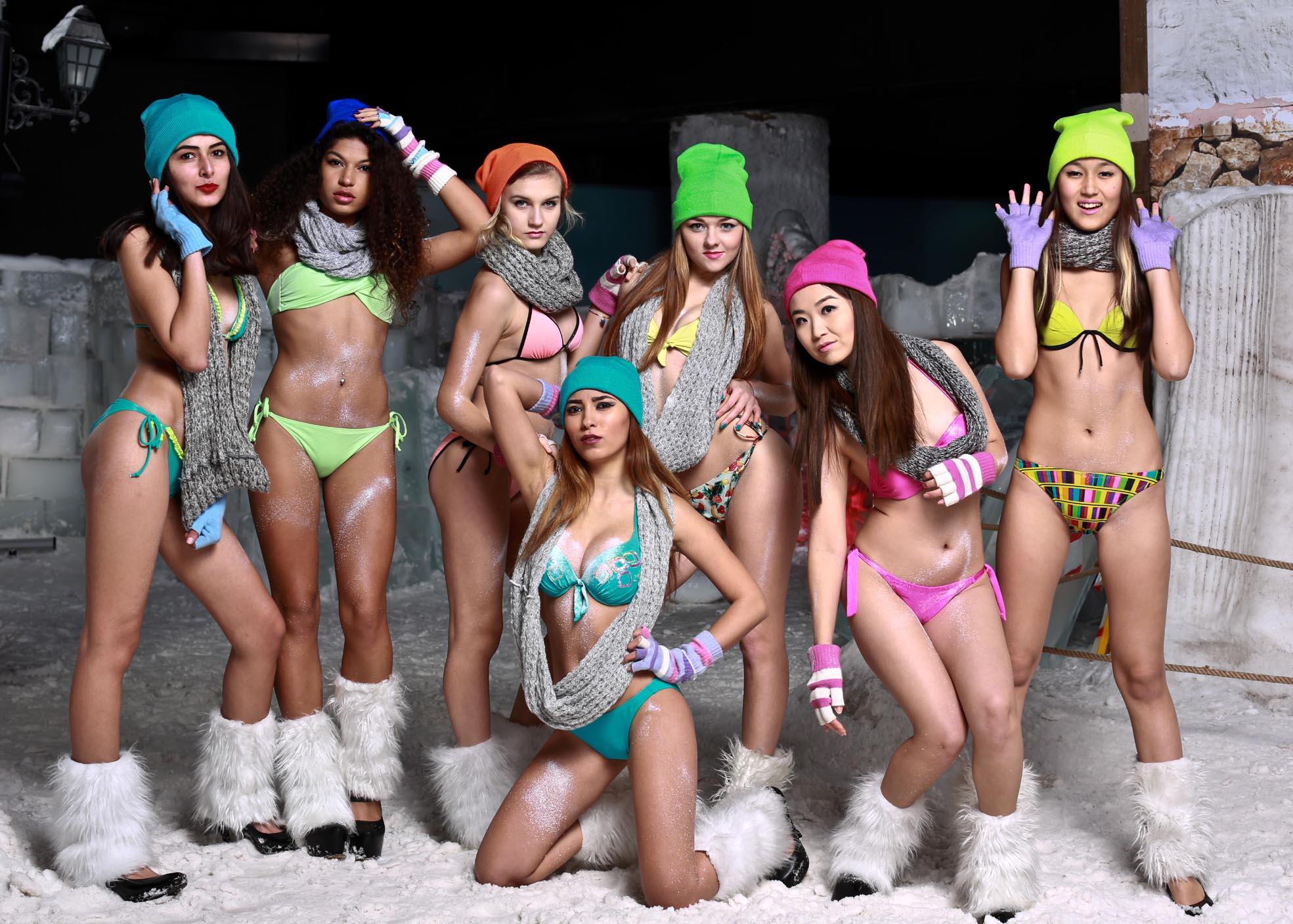 Eksi 15 derecede bikini tanıtımı 1