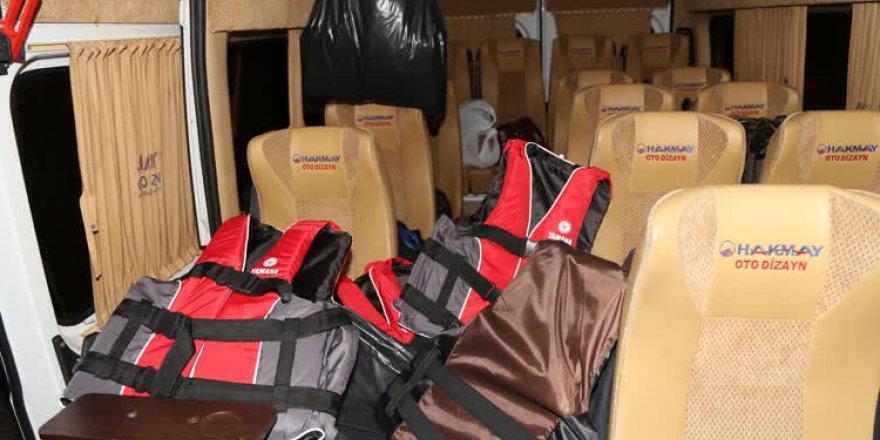 Bursa'da 34 kaçak göçmen yakalandı