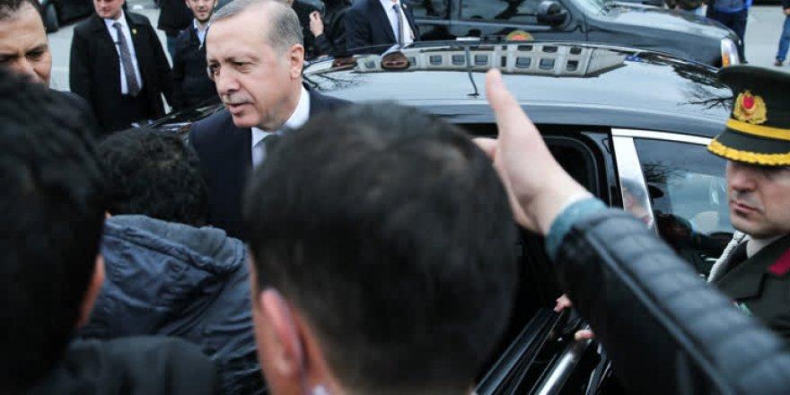 Cumhurbaşkanı Erdoğan'a sürpriz doğum günü
