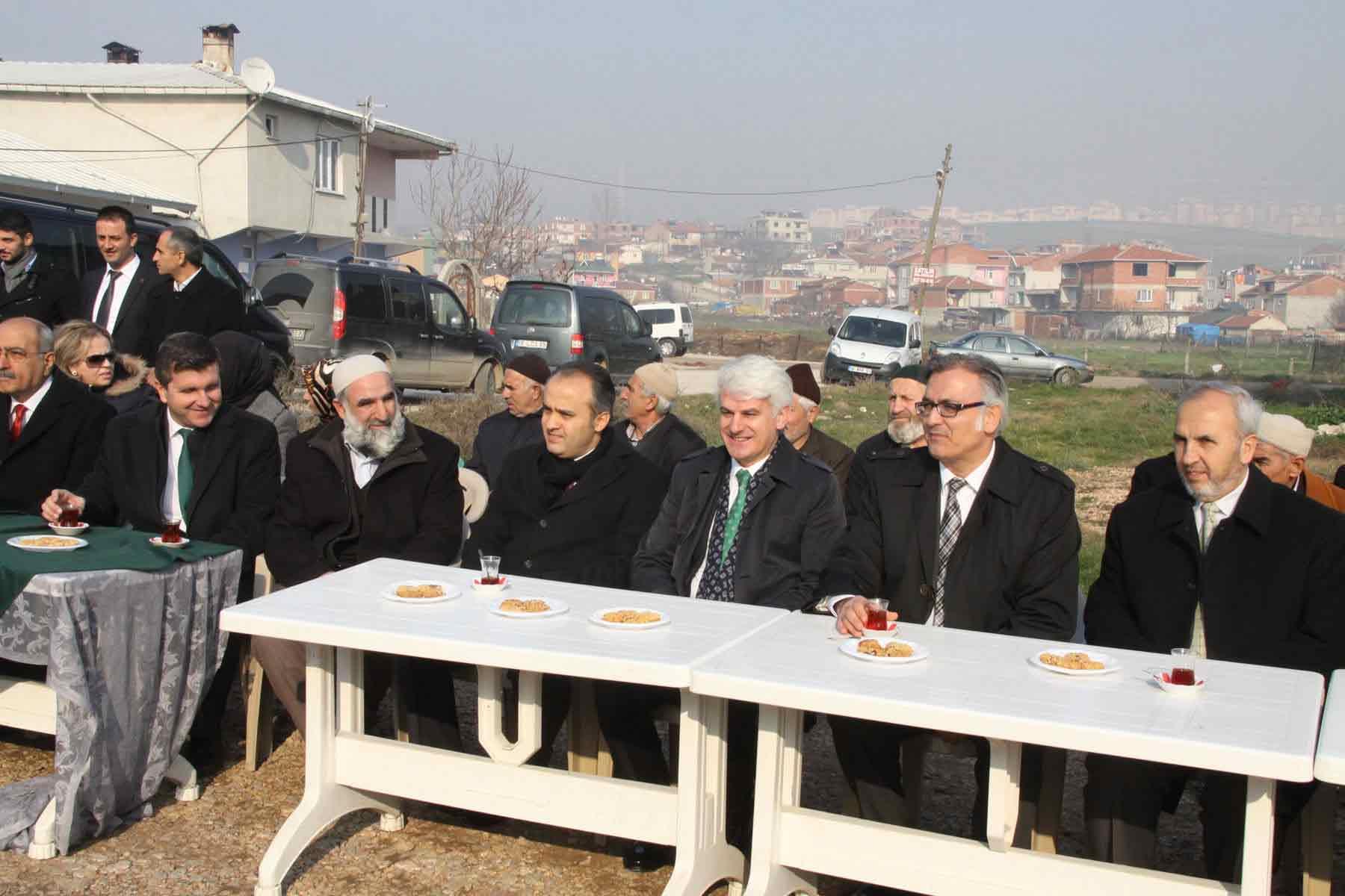 İnegöl'e Kur'an Kursu ve imam evi 1