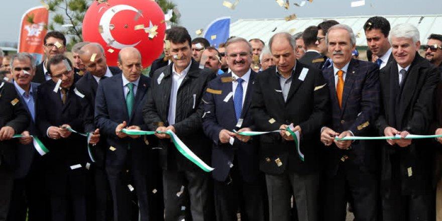 Bursa Olimpik Trap, Double Trap ve Skeet Atış Poligonu açılış töreni