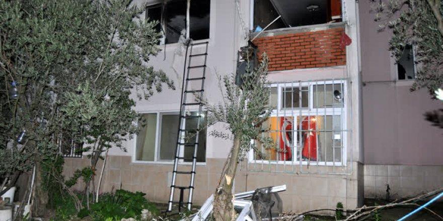 Bursa'da gaz sıkışması sonucu patlama: 2 yaralı