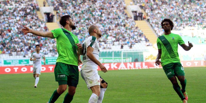 Bursaspor 0-2 Akhisar Belediyespor