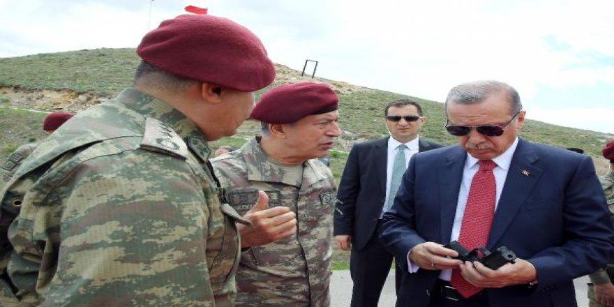 Erdoğan'dan Özel Kuvvetler Komutanlığı'na sürpriz ziyaret