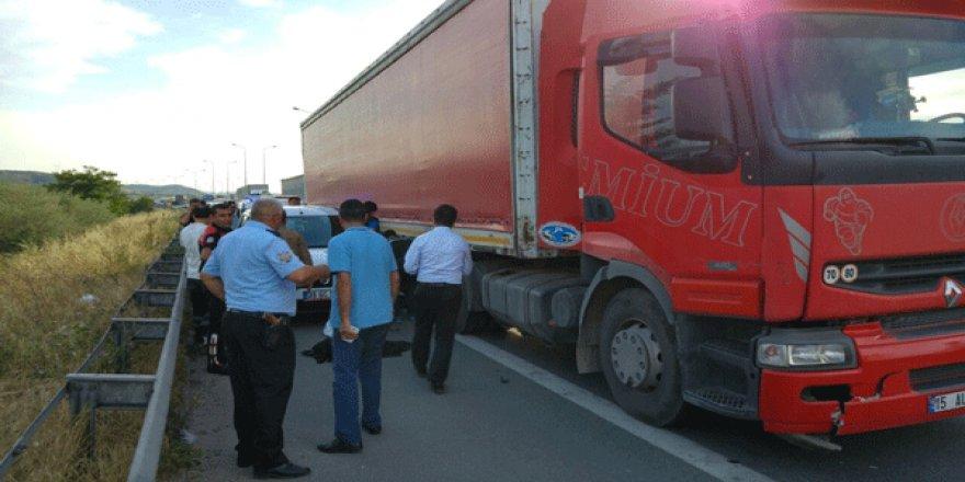 Bursa'da TIR dehşeti: 1 şehit