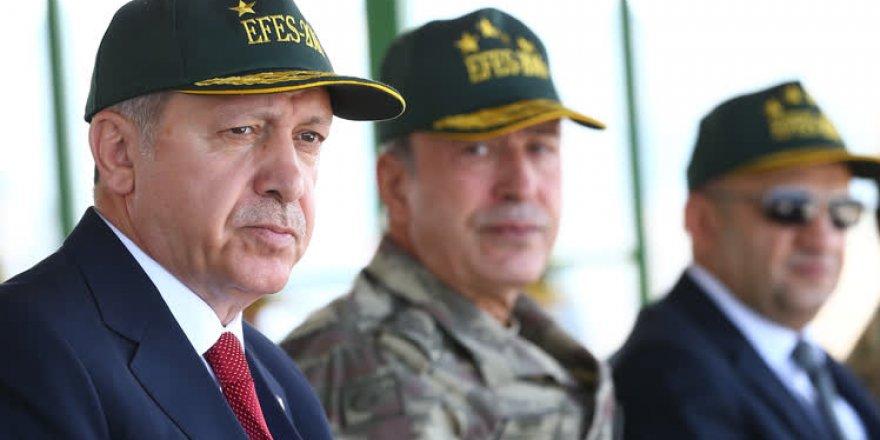 Erdoğan ve Yıldırım Efes-2016 Tatbikatı'nda