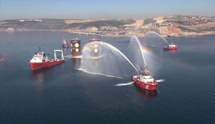 Osmangazi Köprüsü'nün 3 yıllık öyküsünün nefes kesen görüntüleri 1