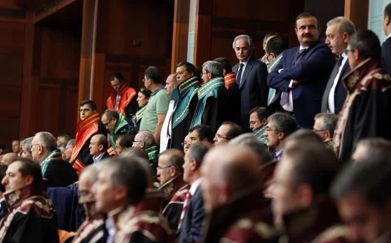 Meclis'te tarihi toplantıdan kareler 1