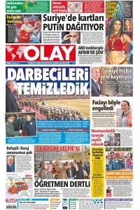 Olay Gazetesi 24 11 2017