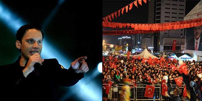 Edis, Cumhuriyet Şöleni'nde Bursa'da binlerce kişiyi coşturdu
