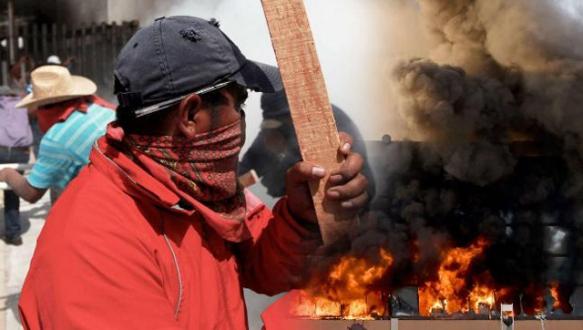 Meksika yanıyor