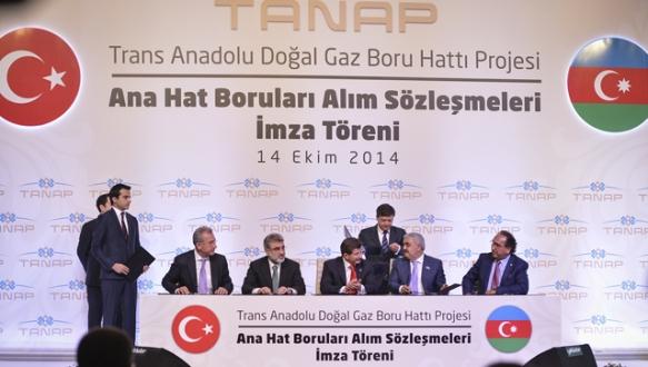 TANAP`ın borularını yerli firmalar üretecek