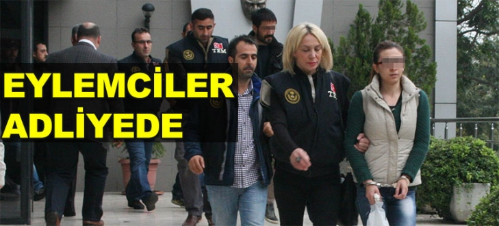 Kobani eylemcileri adliyede!