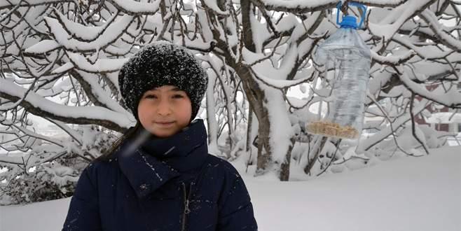 Bursa'da Küçük Beyzanur'dan örnek uygulama