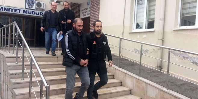 Bursa'da uygulamadan kaçarken yakalandı