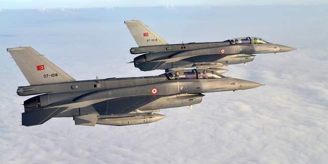 El Bab'da 40 DEAŞ hedefi imha edildi