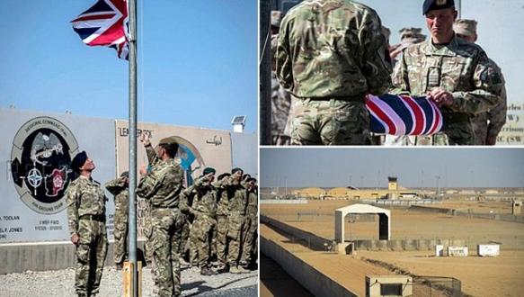 İngiltere`nin Afganistan savaşı sona erdi
