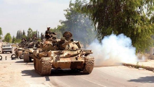 Esad Halep`i kuşatmaya çalışıyor