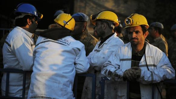 Soma`daki maden ocağında yangın