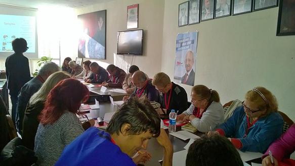 CHP`den üyelere ÜTSE Eğitimi