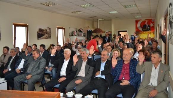İznik Bal-Göç başkanını seçti