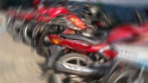 Motosiklet hırsızlarına suç üstü