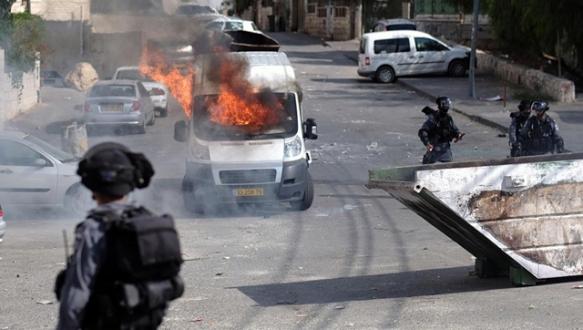 Doğu Kudüs`te şiddetli çatışma