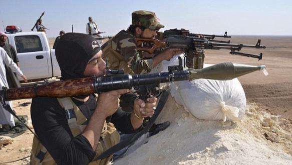 Peşmerge Suriye`ye girdi