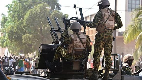 Burkina Faso`da kriz