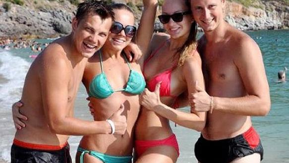 Ruslar Türkiye`de tatili çok sevdi