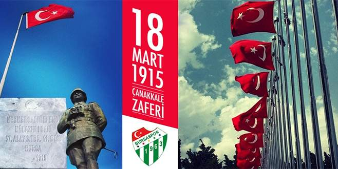 Bursaspor'dan anlamlı mesaj