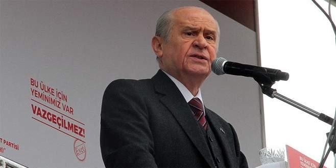 Bahçeli: 'Bu evetler Türk düşmanlarını tir tir titretecek'