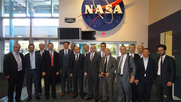 BTSO uzay kümelenmesi ABD'de