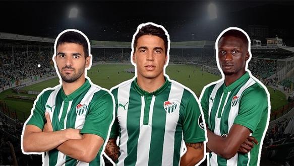 Bursasporlu futbolculara milli davet
