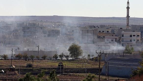 Kobani`de çatışmalar sınır kapısı yakınında şiddetlendi