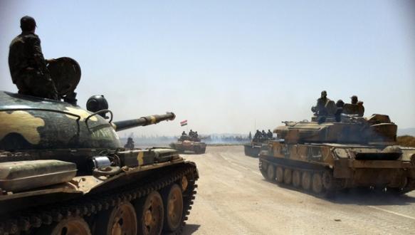 Esad Halep`i kuşatmak üzere