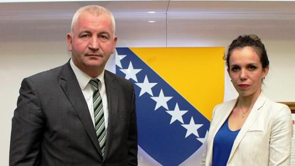 Bosnalı Bakan`dan BİGMEV`e teşekkür