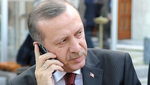 Erdoğan`dan `Mescid-i Aksa` telefonu
