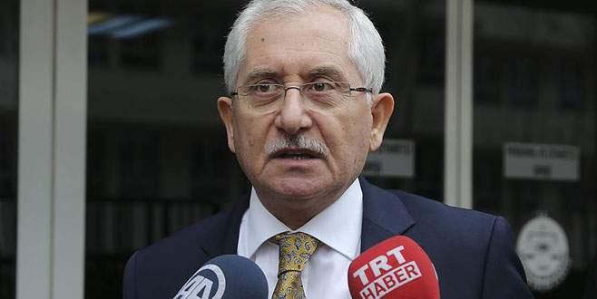 YSK Başkanı'ndan 'seçim takvimi açıklaması