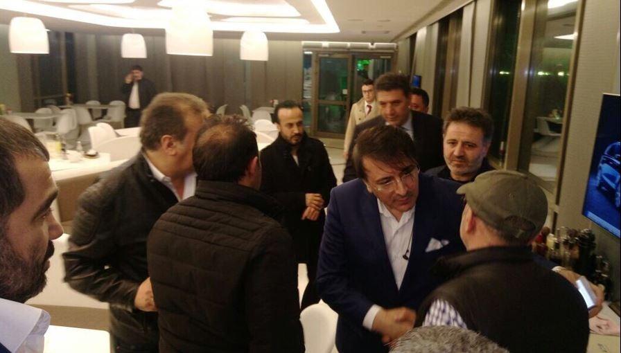 Milletvekili Aydemir, Sanatçı Erkal'ı ziyaret etti